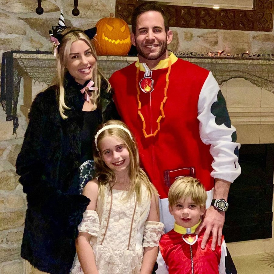 7 October 2019 Heather Rae Young's Sweetest Moments With Tarek El Moussa's Kids