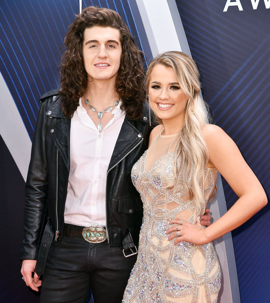 Cade Foehner and Gabby Barrett attend the 52nd Annual CMA Awards American Idol Gabby Barrett and Cade Foehner Welcome Their First Child