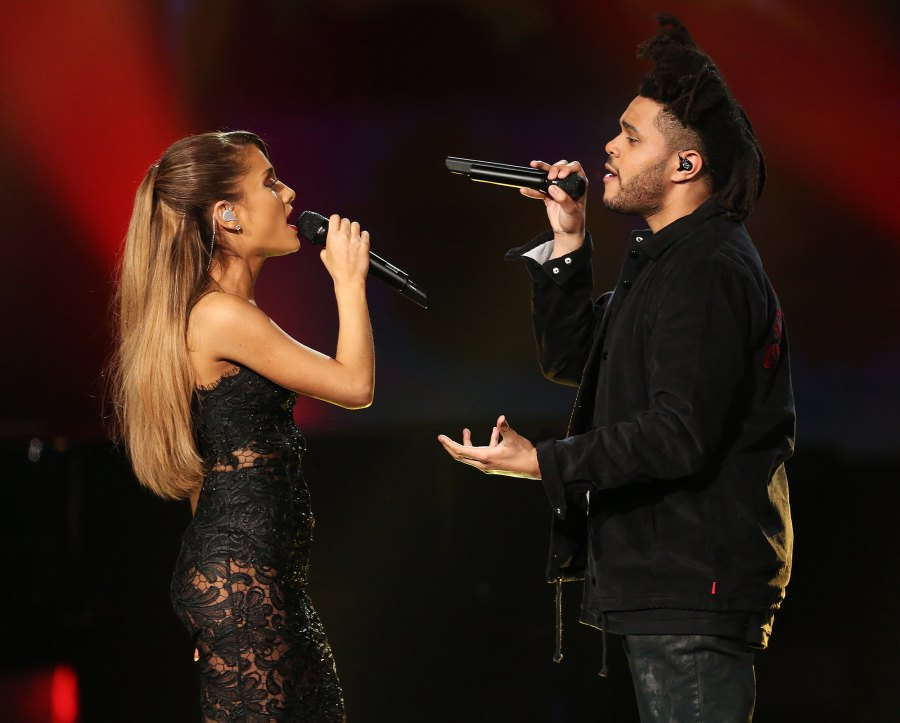 Ariana Grande The Weekend collaboration