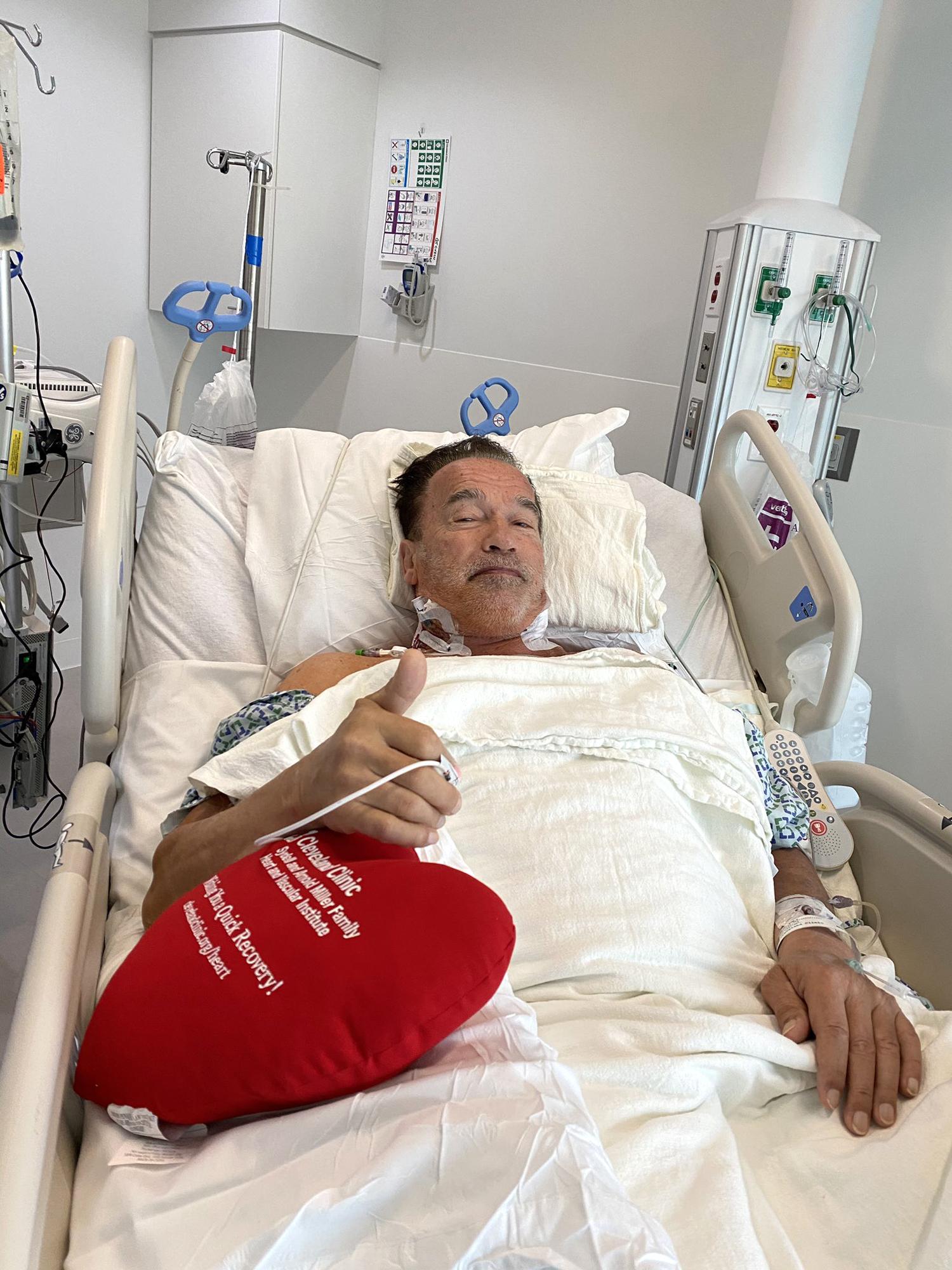 Arnold Schwarzenegger Reveals He Underwent Heart Surgery Is Recovering