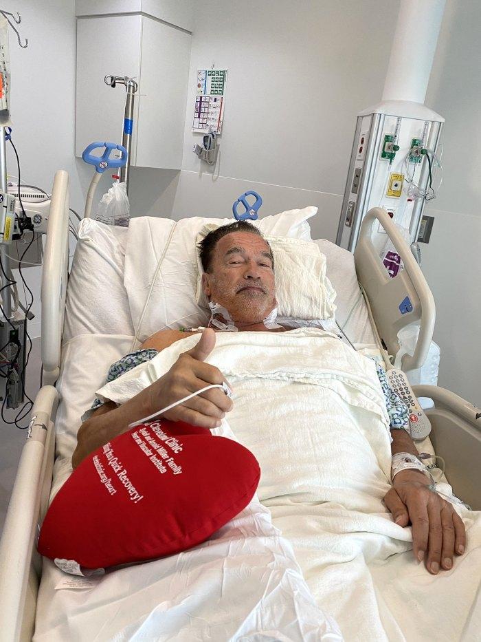 Arnold Schwarzenegger revela que se sometió a una cirugía cardíaca y se está recuperando