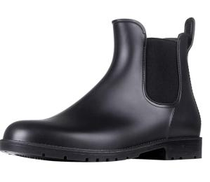 Asgard Women's Ankle Waterproof Chelsea Rain Boots