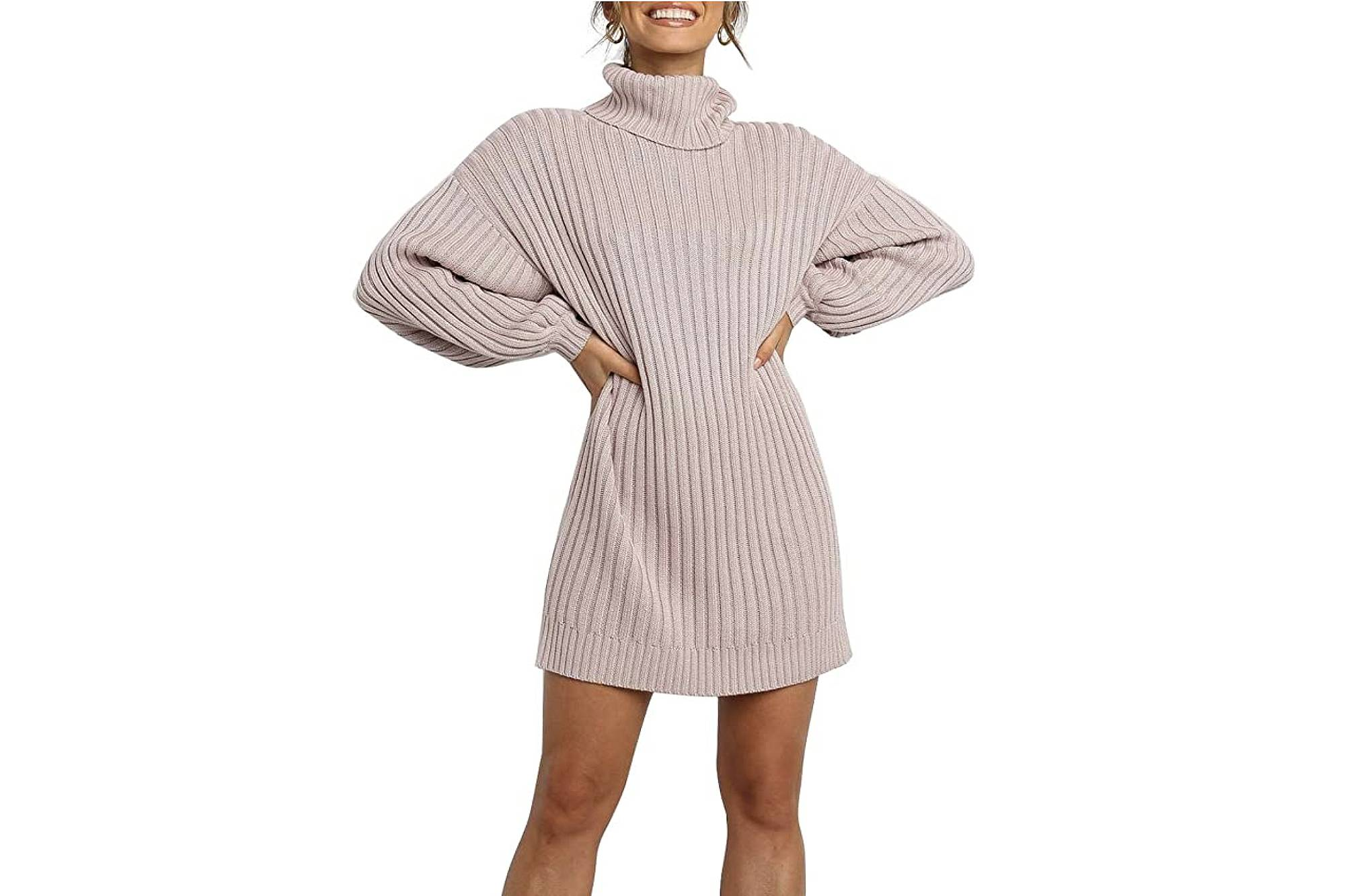 Blencot Cable Knit Sweater Dress Is So Incredibly Soft And Cozy