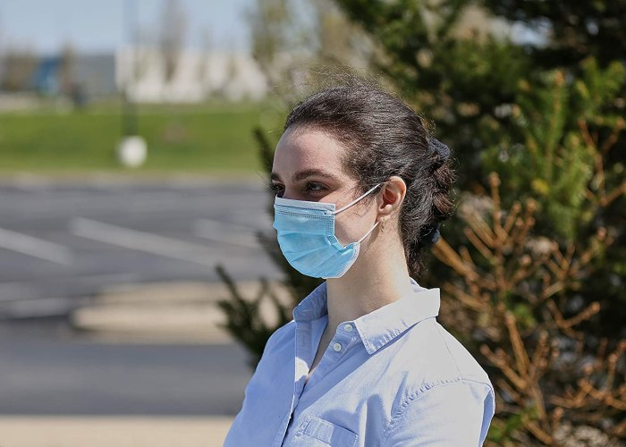 Basic Resources Single Use Disposable Face Mask