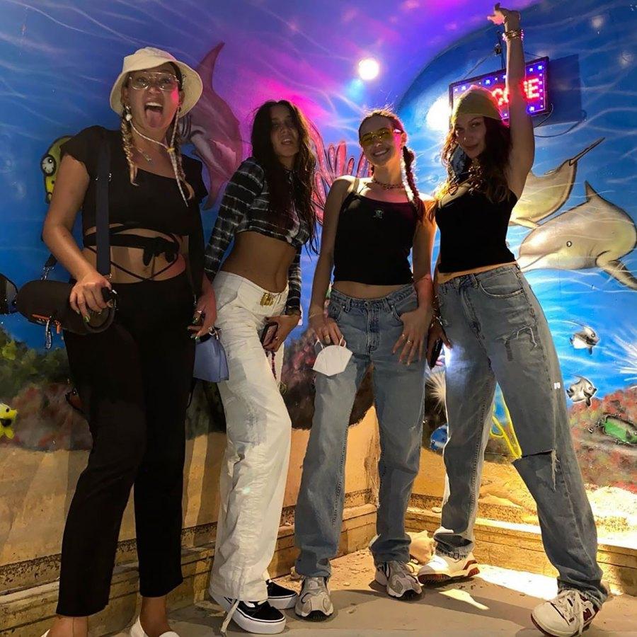 Bella Hadid Continues to Slay in Stylish Looks on Her Birthday Trip