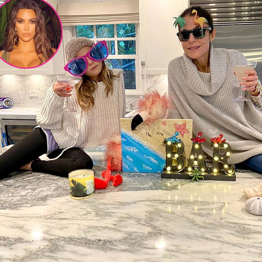 Bethenny Frankel Daughter Bryn Mock Kim Kardashian Private Island Getaway