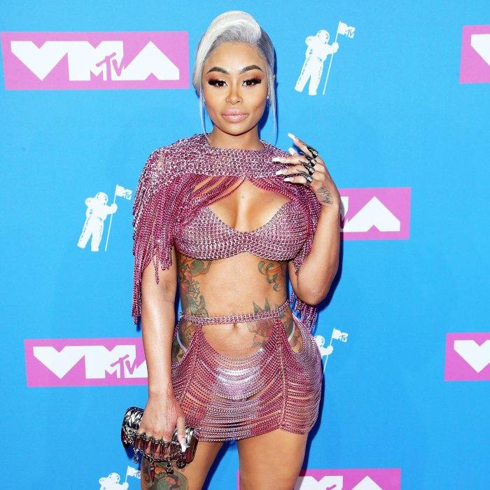 Blac Chyna asiste a los MTV Video Music Awards en 2018 Demanda de Blac Chyna contra las Kardashians para avanzar