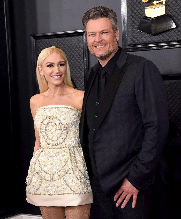 La prometida de Blake Shelton, Gwen Stefani, está trabajando como prenupcial