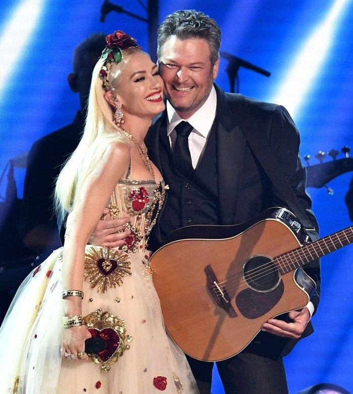 Blake Shelton and Gwen Stefani Celebrate the CMT Awards 2020 Together