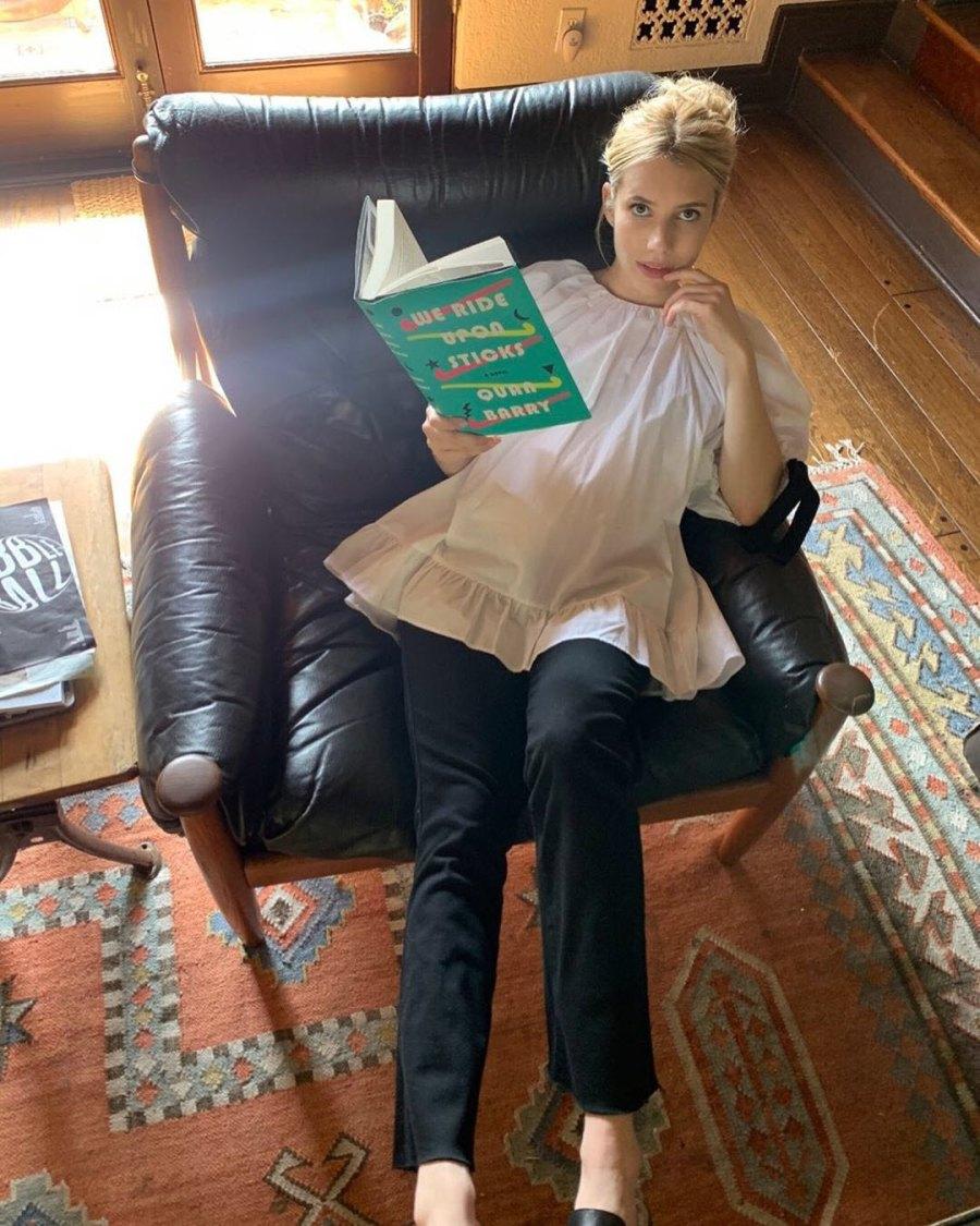 Book Bump Emma Roberts Pregnancy Pics Ahead 1st Child