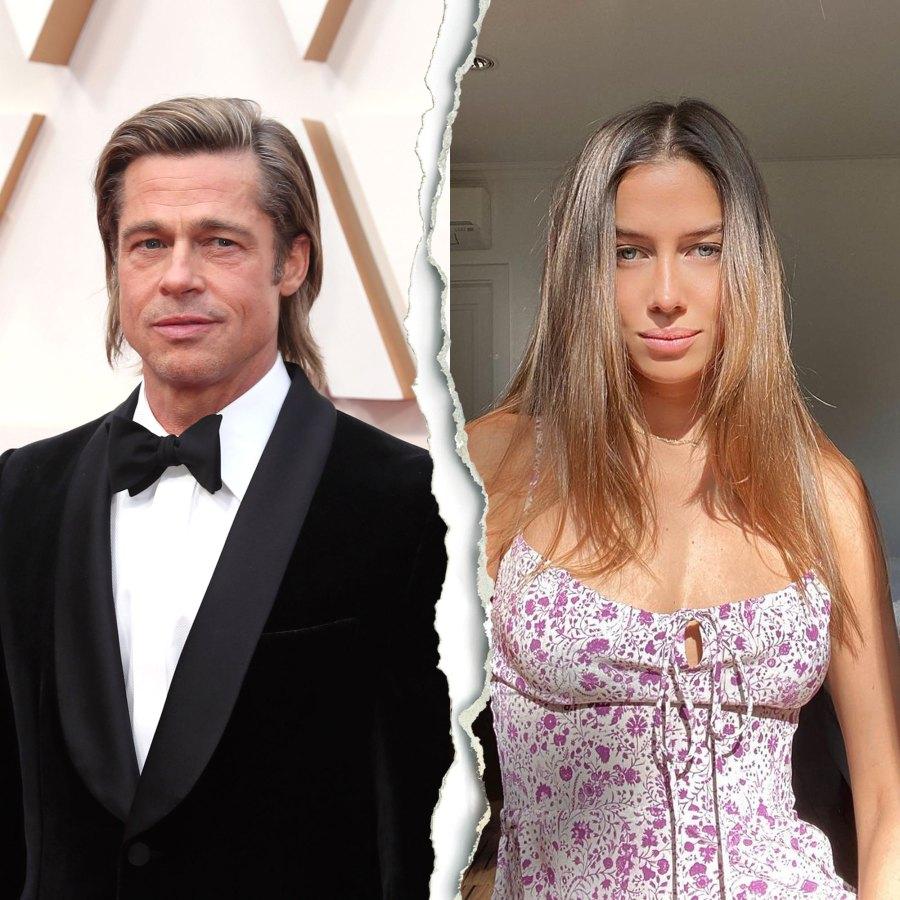 Brad Pitt and Girlfriend Nicole Poturalski Split