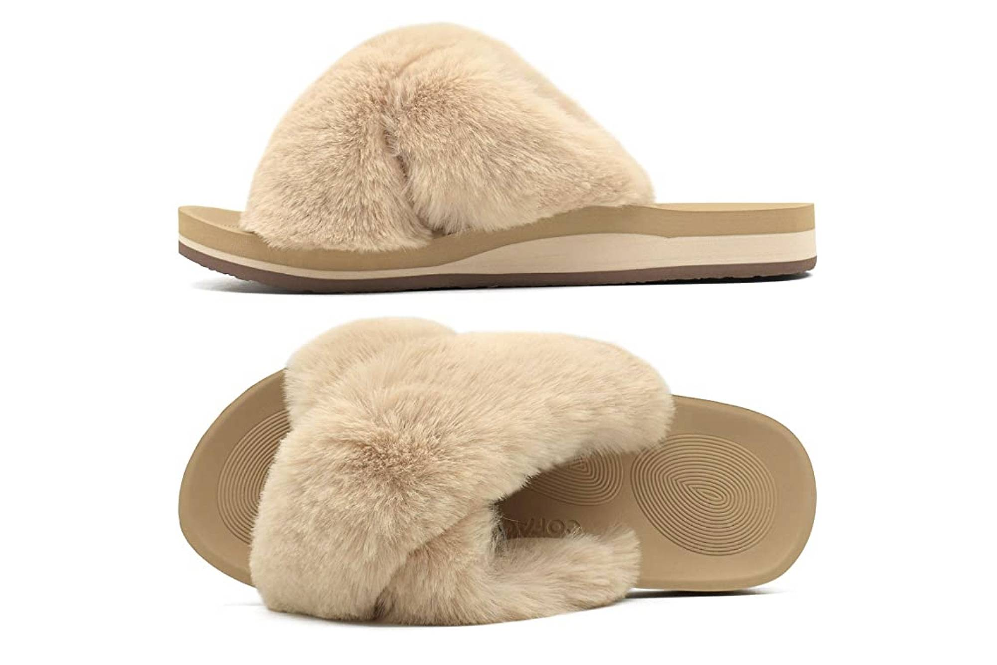 Coface Fuzzy Slippers Are Comfy and