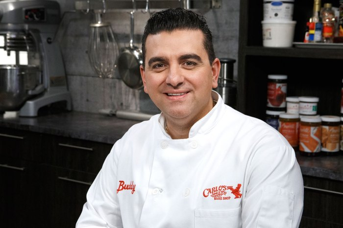 Cake Boss Buddy Valastro Attempts to Ice Cake After Bowling Accident