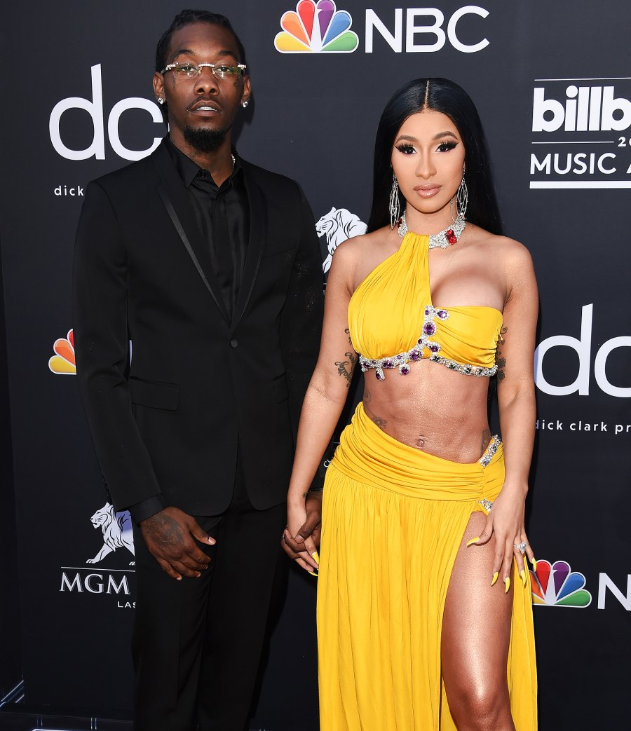Cardi B and Offset on again off again couple