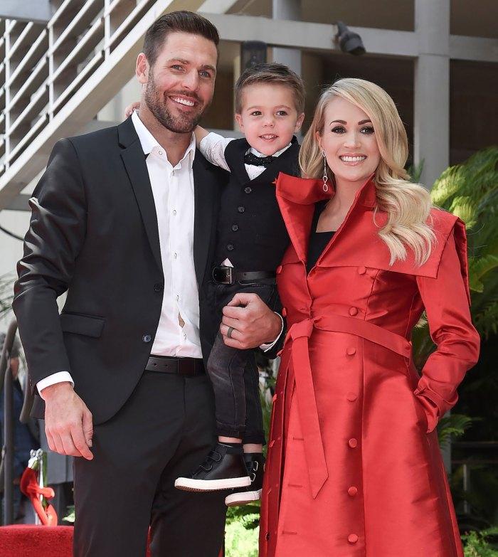 El hijo de Carrie Underwood, Isaiah, de 5 años, aparece en el álbum de Navidad: 'He Loves to Sing'
