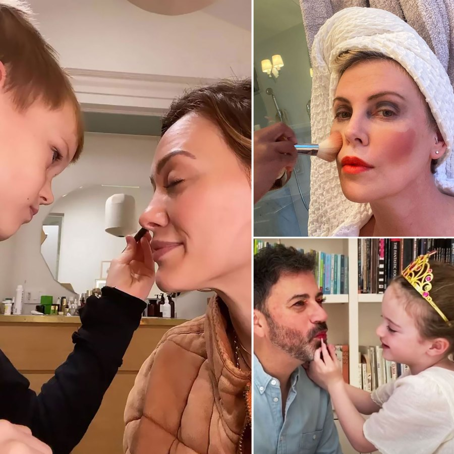 Celebrity Kids Giving Their Parents Makeovers