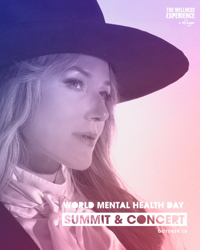 Celebrate World Mental Health Day With the Wellness Experience's Summit and Concert by Kroger and Jewel
