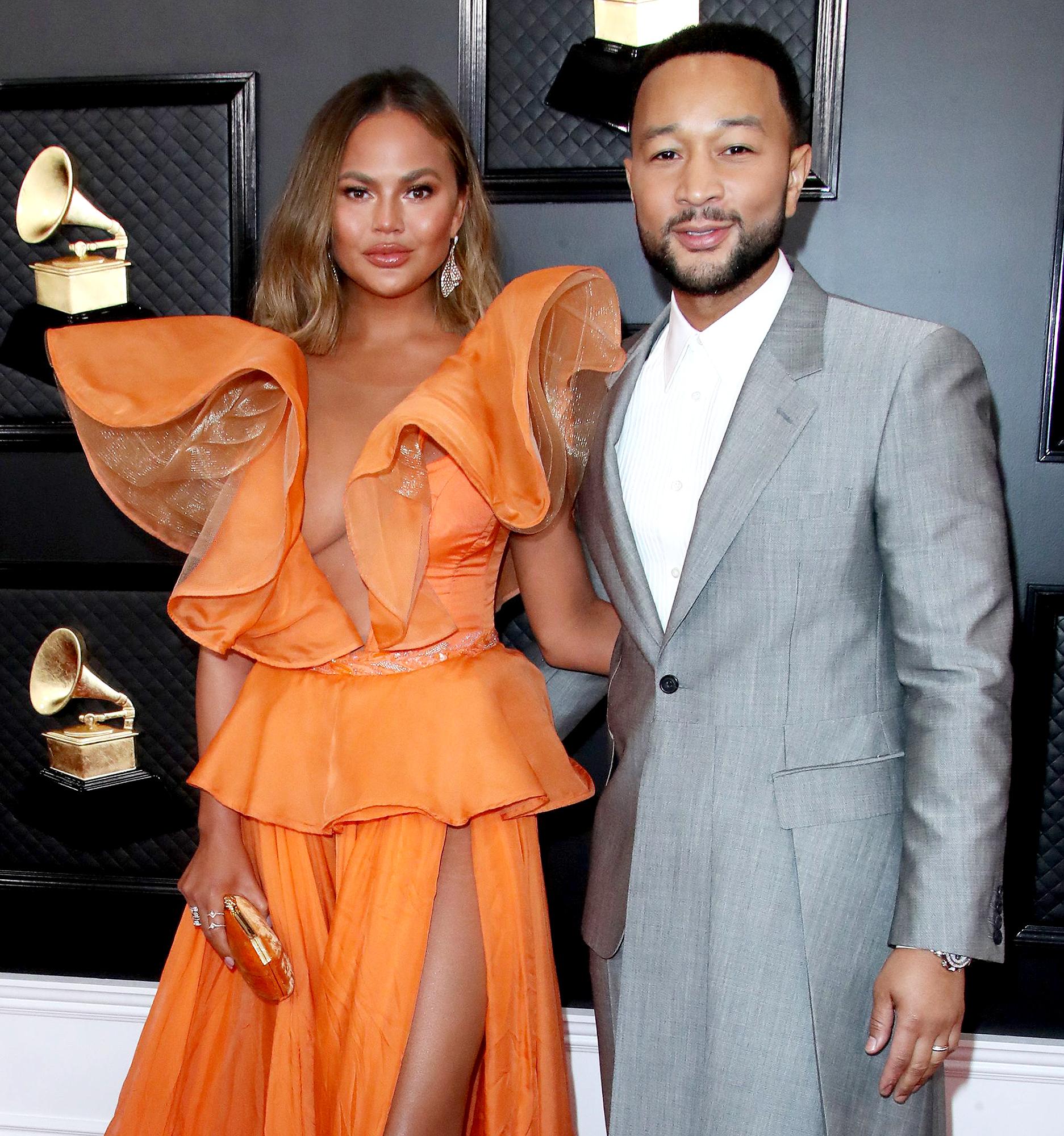 Celebs Support Chrissy Teigen, John Legend After Pregnancy Loss