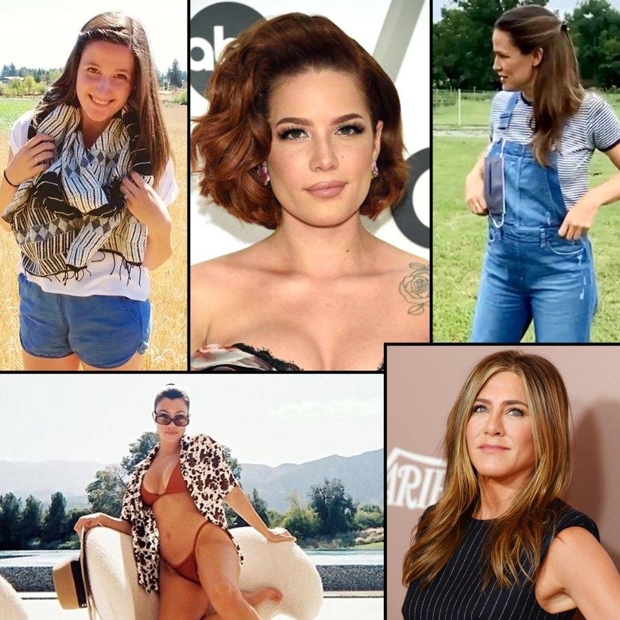 Halsey Tori Roloff Jennifer Garner Jennifer Aniston Kourtney Kardashian Celebrities Slam Pregnancy Rumors Speculation