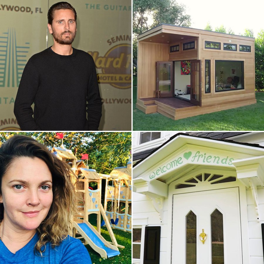 Celebrity Parents Show Off Their Kids Epic Playhouses