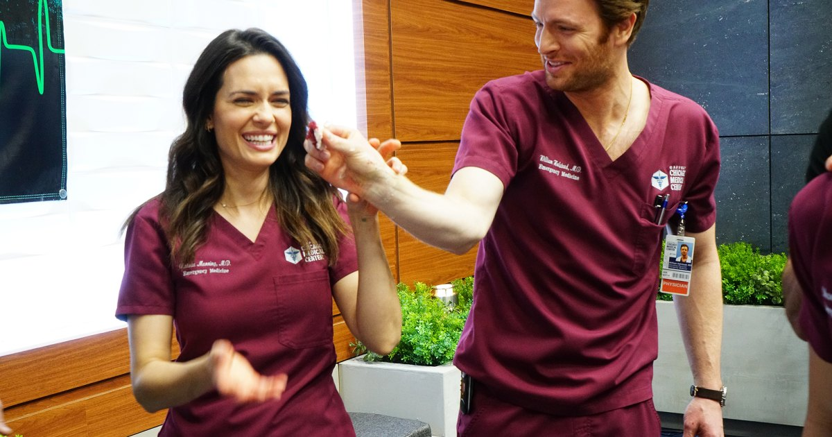 Chicago Med's Torrey DeVitto: I Still 'Hold a Candle for Manstead'