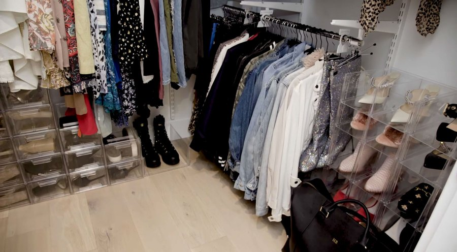 Clean Closet Hannah Brown Shows Off Los Angeles Apartment Makeover