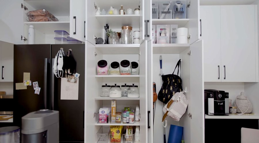 Clean Kitchen Hannah Brown Shows Off Los Angeles Apartment Makeover