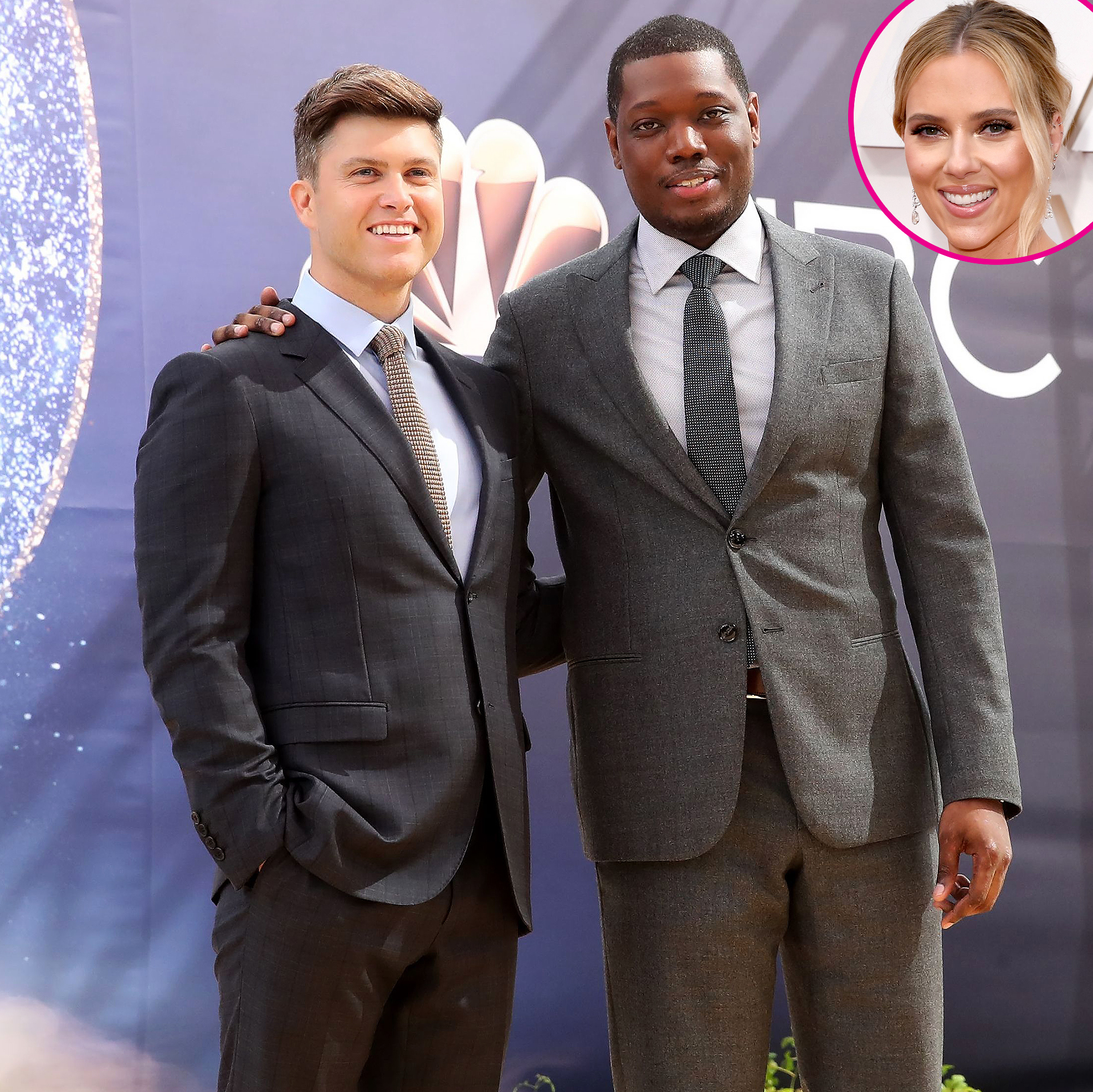 Colin Jost I Want Michael Che To Object At My Wedding To Scarlett