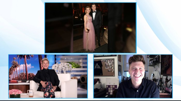 Colin Jost Jokes About Michael Che Objecting at Scarlett Johansson Wedding