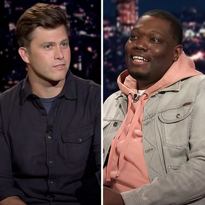 Colin Jost And Michael Che Snl S Table Read Felt Like A Podcast