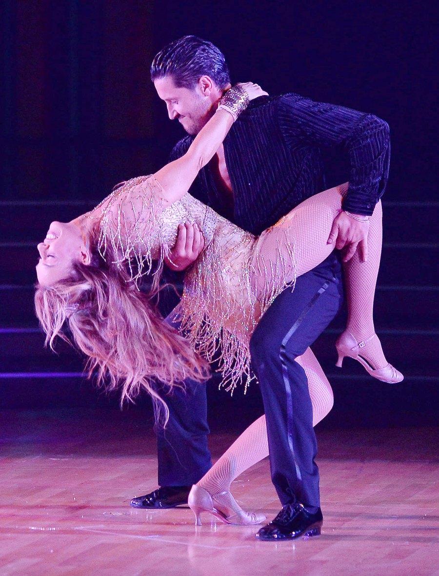 Monica Aldama and Val Chmerkovskiy DWTS Recap October 12