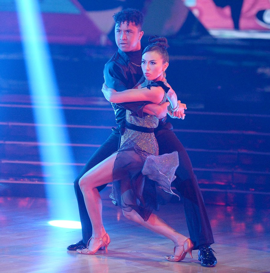 Jeannie Mai and Brandon Armstrong DWTS Recap October 12