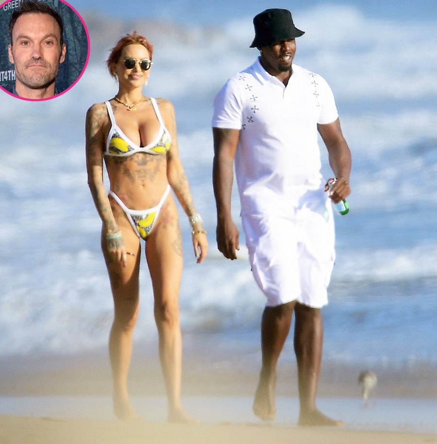 Diddy Makes Out With Tina Louise After Her Fling With Brian Austin Green
