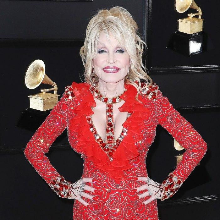 Dolly Parton Open Posing Playboy Celebrate Her 75th Birthday