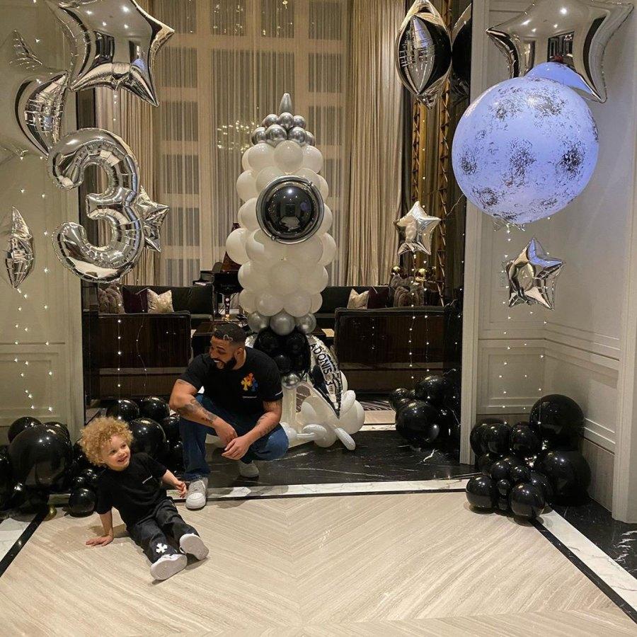 Drake Celebrates Son Adonis 3rd Birthday Best Balloons