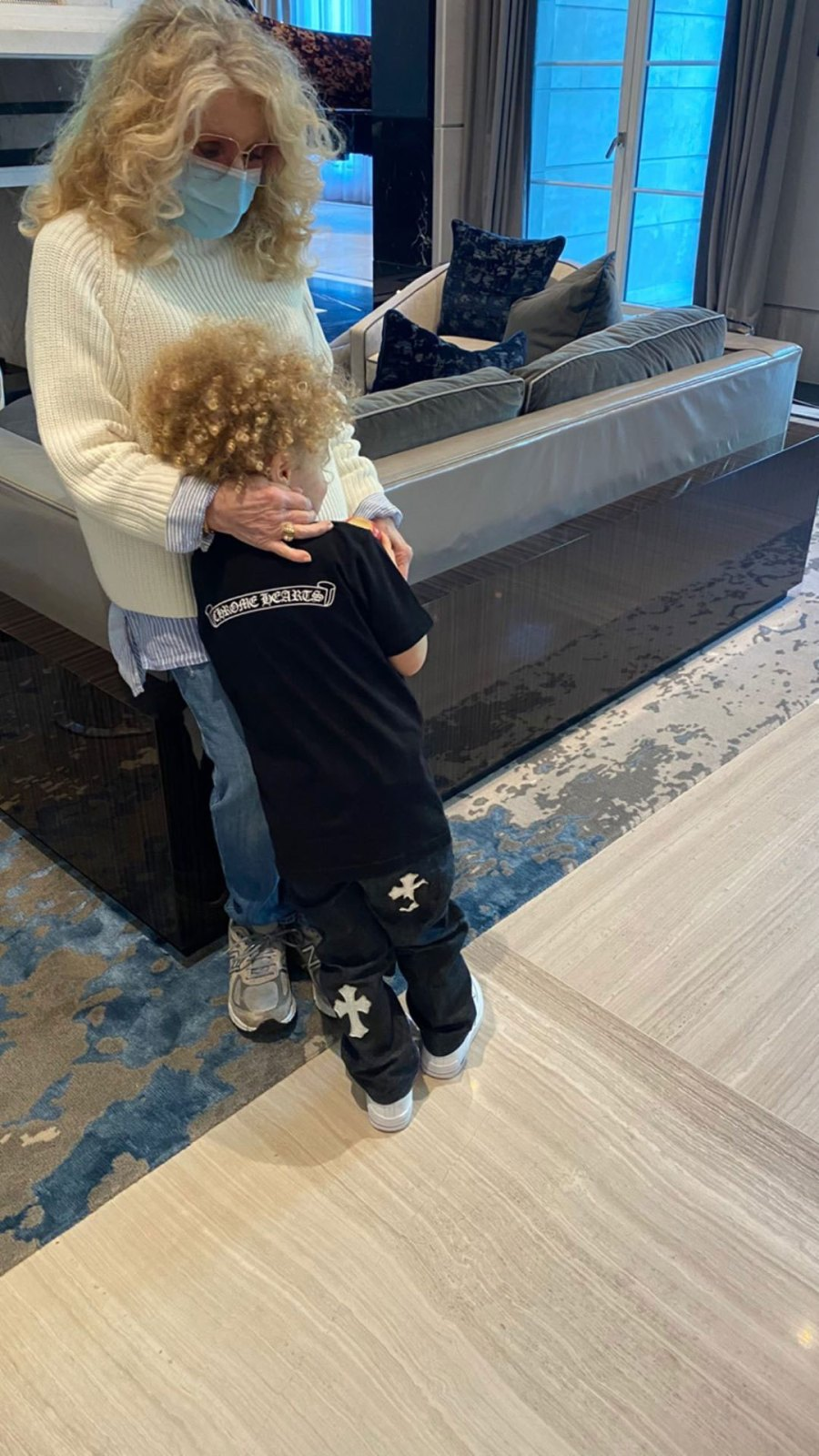 Drake Celebrates Son Adonis 3rd Birthday Sophie Brussaux Grandma Boy