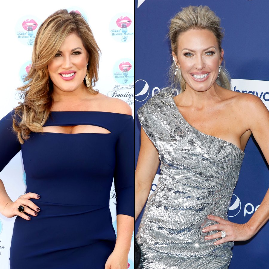 Emily Braunwyn Shade Every Time Vicki Gunvalson and Tamra Judge Threw Shade at the Real Housewives of Orange County Cast After Their Exits