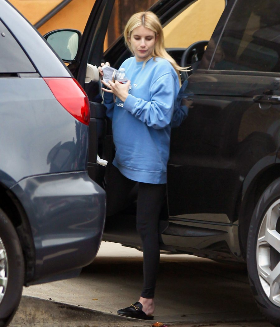 Out and About! Pregnant Emma Roberts' Baby Bump Pics Ahead of 1st Child