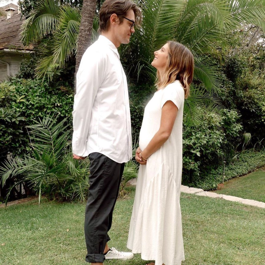 Future Parents Ashley Tisdale Baby Bump Album Ahead of 1st Child With Christopher French