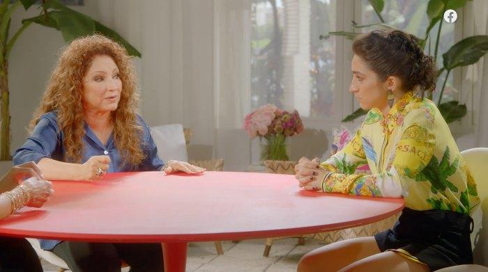 La hija de Gloria Estefan dice que mamá le dijo que no saliera con la abuela 1