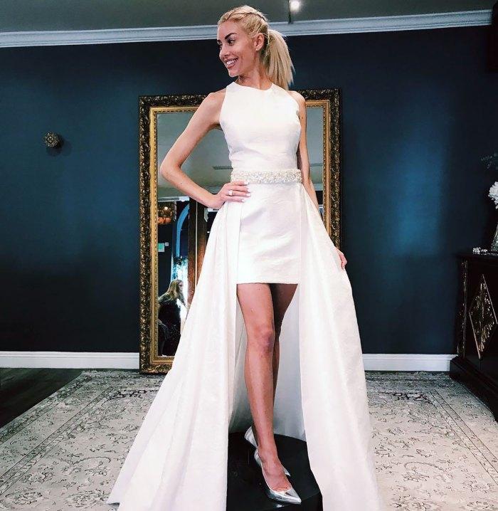 Vender Heather Rae Young de Sunset comparte sus 3 vestidos de ensayo favoritos