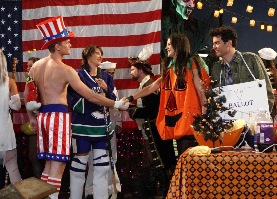 How I Met Your Mother The Slutty Pumpkin Returns Best Halloween TV Episodes of All Time