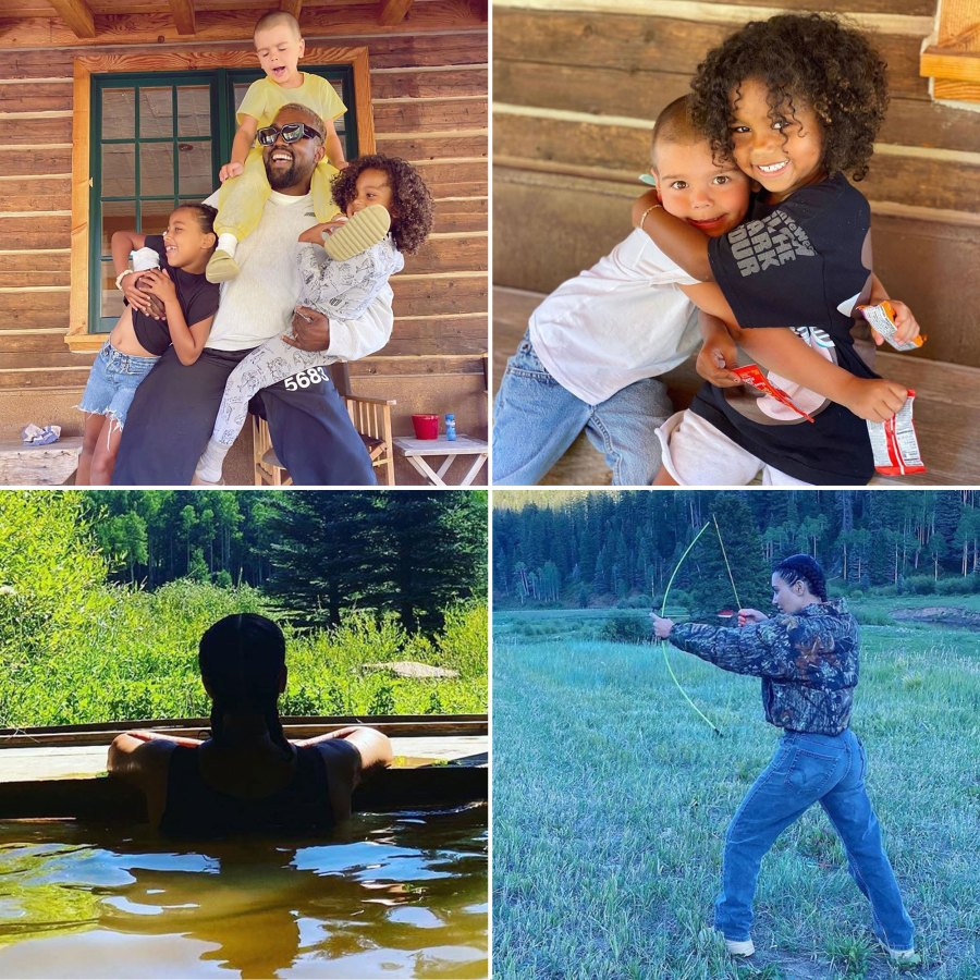Inside Kim Kardashian and Kanye West Colorado Adventures With Their Kids