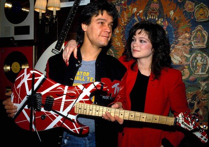Dentro de Valerie Bertinelli se une a su exmarido Eddie Van Halen