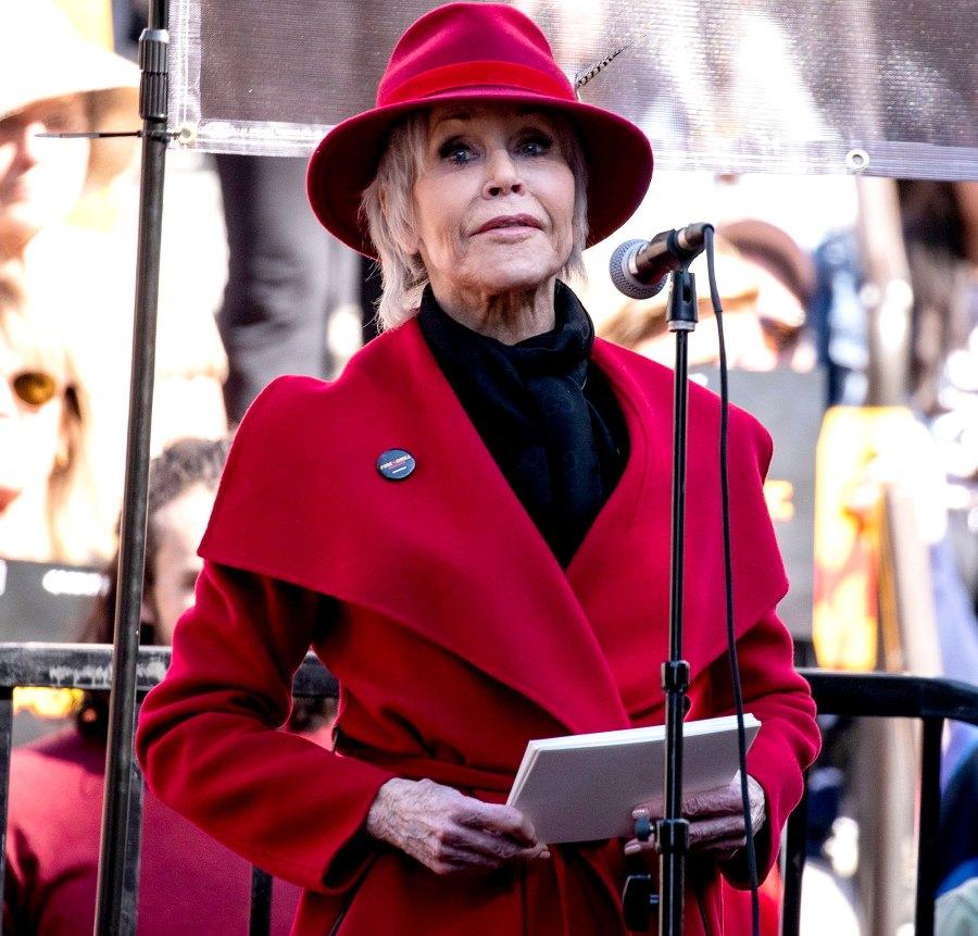 Jane Fonda coronavirus