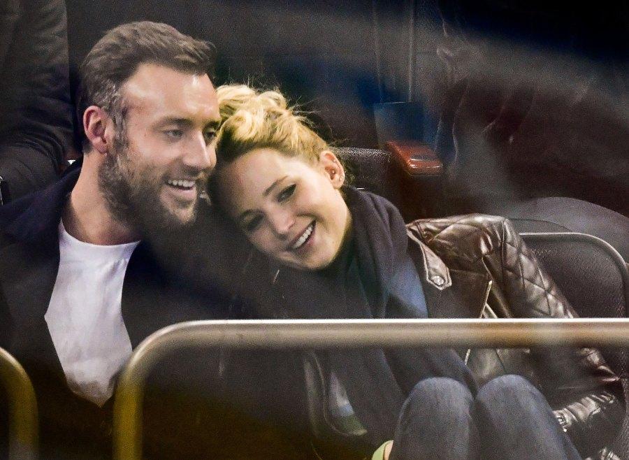 Jennifer Lawrence Says Husband Cooke Maroney Doesn't Mind Her Having Sleepovers