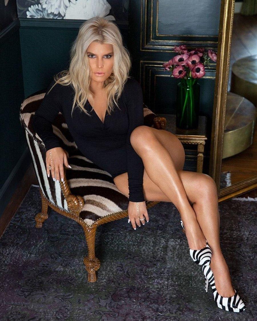 Jessica Simpson Legs Pandemic Date Night