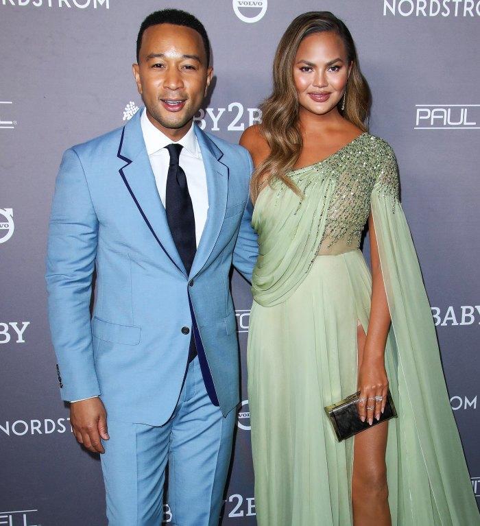John Legend escribe conmovedor mensaje a Chrissy Teigen después de la pérdida del embarazo