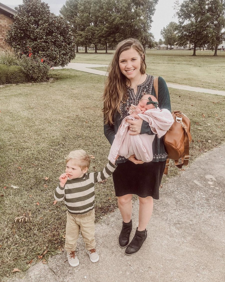 Joy-Anna Duggar Defends How She Held Daughter in Family Photo