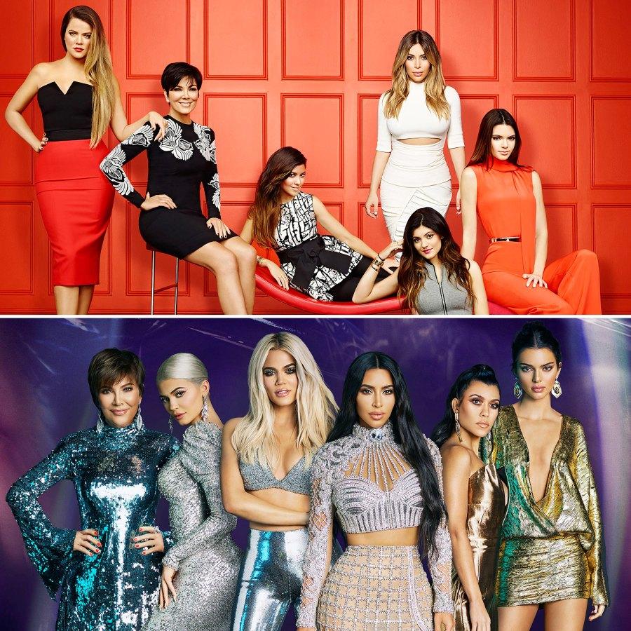 Keeping Up With the Kardashians Cast Season 1 Season 19 Then Now